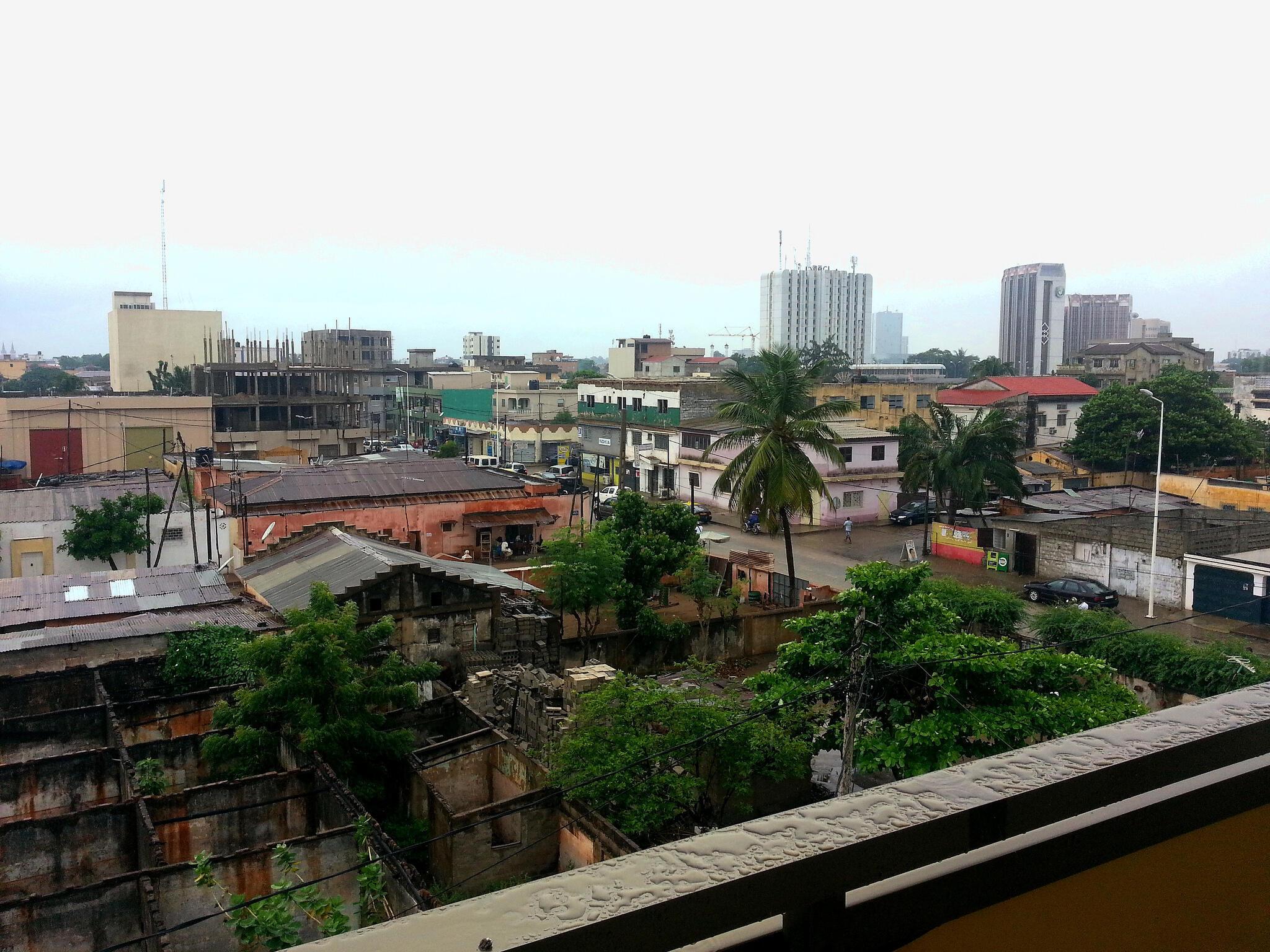 Vue de Lomé. Sénamé Koffi entend allier l'esprit de solidarité déjà présent dans les villes et villages africains à la modernité des starts-up.