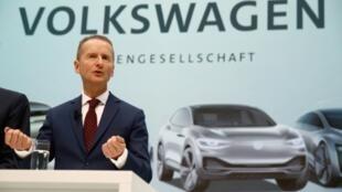 德國大眾汽車總裁迪斯