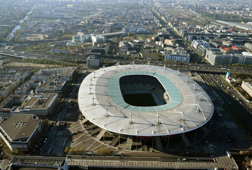 Le Stade de France à Saint-Denis.