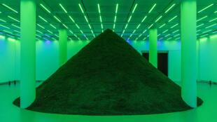 A 15° Bienal de Arte Contemporânea de Lyon pode ser vista até 5 de janeiro de 2020. Foto: Obra de PamelaRosenkranz