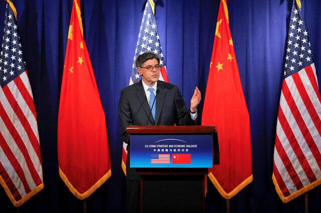 Bộ trưởng Tài Chính Mỹ, J.Lew trong đối thoại Mỹ Trung 2016.