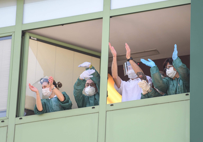 Mức tăng số bệnh nhân mới niễm virus corona tại Ý đã rút ngắn dần trong 3 ngày liên tiếp.
