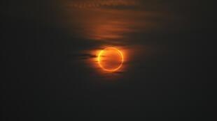 O eclipse solar poderá ser observado quase na totalidade na Polinésia Francesa.