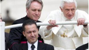 Italie - Paolo Gabriele - pape Benoît XVI