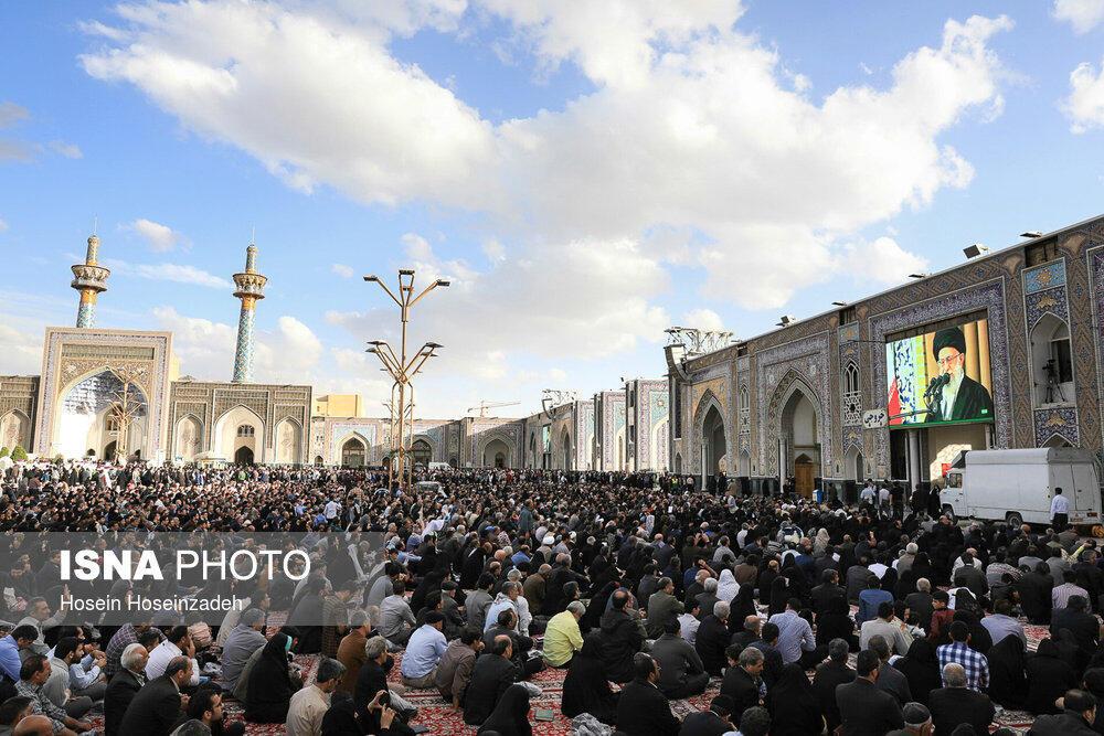 علی خامنهای، رهبر جمهوری اسلامی در سخنان امسال خود در مشهد