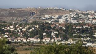 A Ofra, une colonie israélienne, près de Ramallah, dans les Territoires Palestiniens. (Image d'illustration)