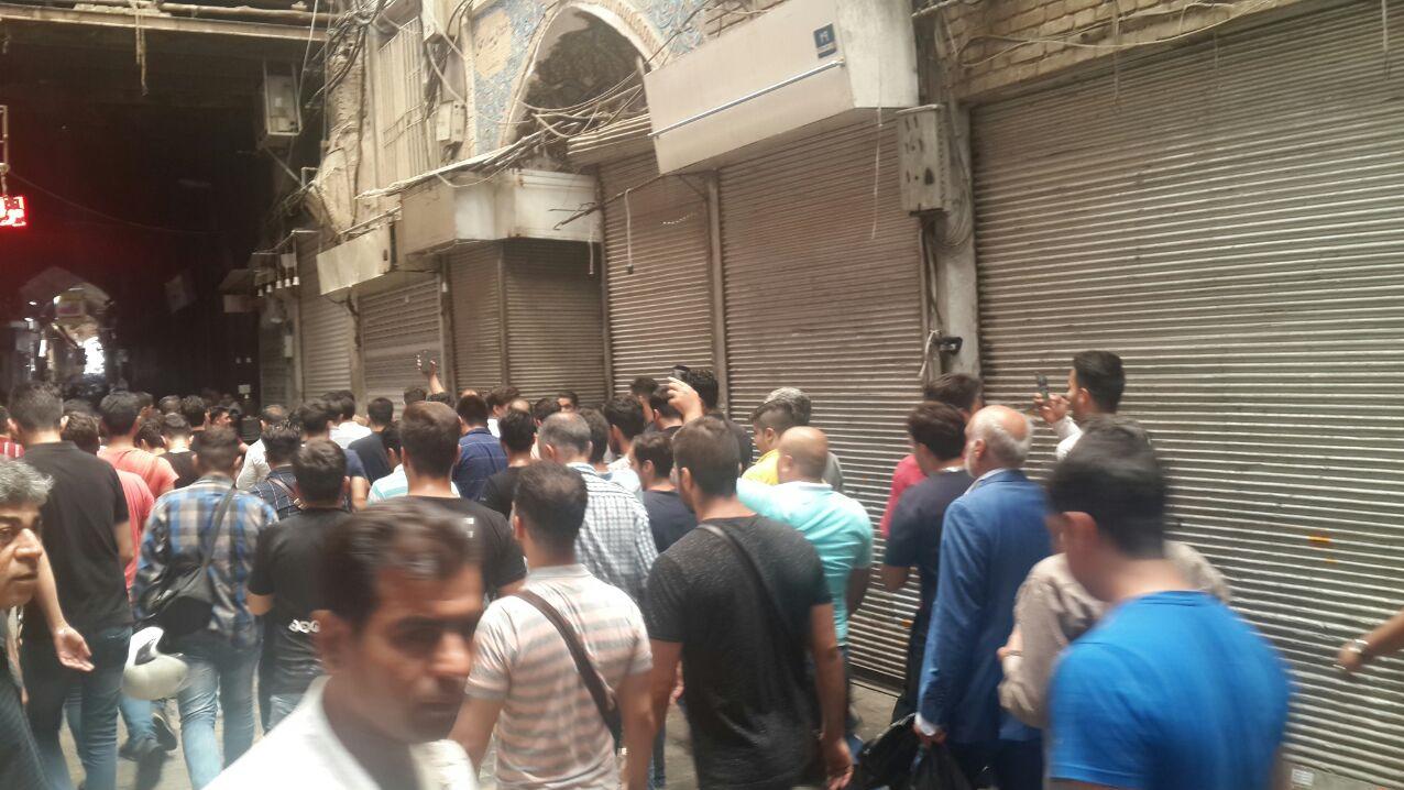اعتصاب در بازار تهران چهارم تیر ماه