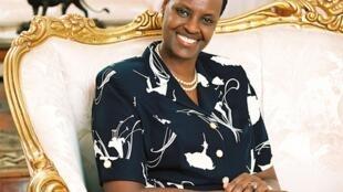 Janet Museven Waziri wa Elimu wa Uganda na mke wa raisi Yoweri Museven