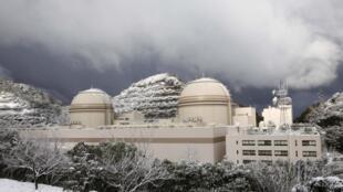 Nhà máy điện hạt nhân Kansai Electric Ohi ở Fukui, Nhật Bản (ảnh chụp tháng Giêng 2012)