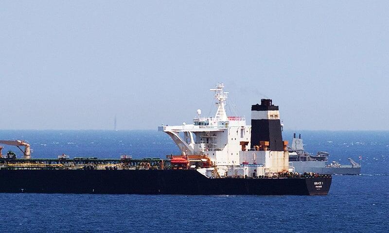 نفتکش غولپیکر ایرانی در حال عزیمت به سوی پالایشگاه بانیاس در سوریه بوده است.