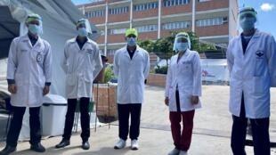 l'hôpital Ana Francisca Pérez de Léon II est l'un des établissements publics autorisés à accueillir les patients Covid-19 à Caracas