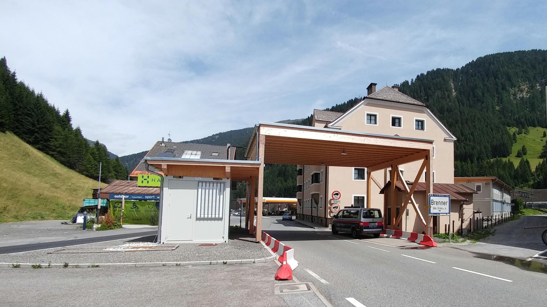 A la frontière du col du Brenner.