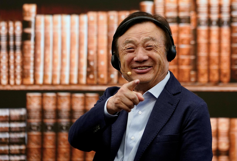 中国通讯巨头华为创始人任正非资料图片