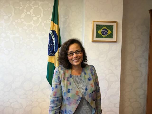 A embaixadora do Brasil na Hungria, Maria Laura da Rocha.