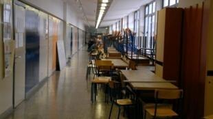 La Faculté de lettres de Zagreb, où les cours ont de nouveau été bloqués en décembre par des étudiants qui réclament la gratuité des études.
