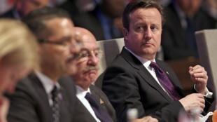 Премьер Великобритании Дэвид Кэмерон на саммите по ядерной безопасности в Гааге 24/03/2014