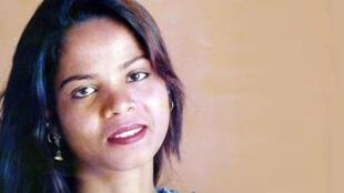 Une photo non datée de Asia Bibi.