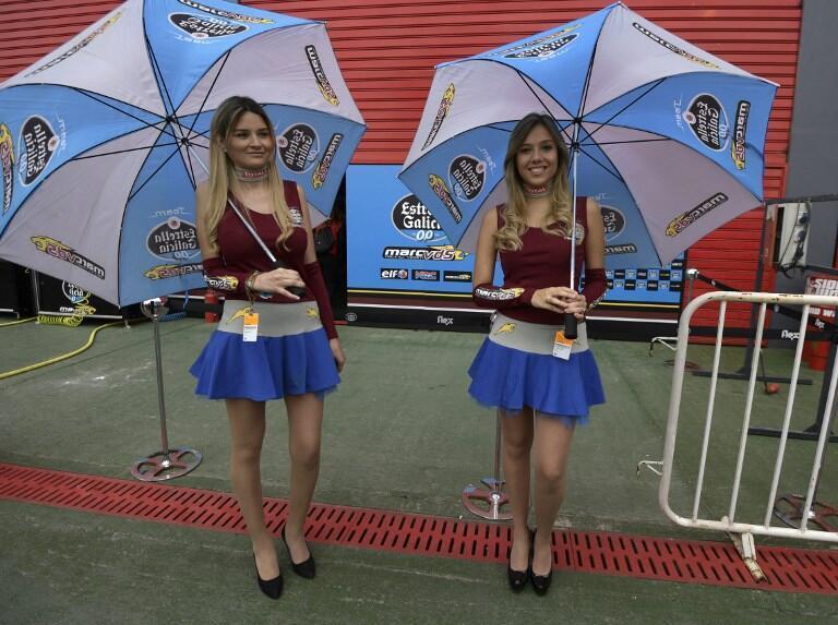 """Crianças vão substituir as """"grid girls"""", que seguravam guarda-chuvas ou nomes dos corredores no gride de largada."""