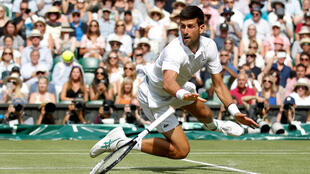Le Serbe Novak Djokovic.