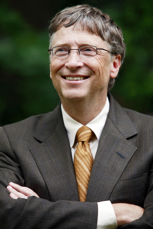 Bill Gates, cofundador de la empresa Microsoft.