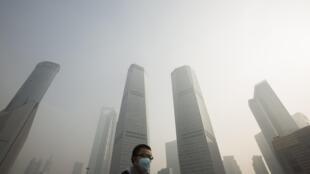 Le quartier  des affaires de Pudong, à Shanghaï.