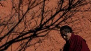 Nhà sư Tây Tạng.
