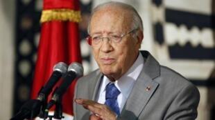 Beji Caïd Essebsi.