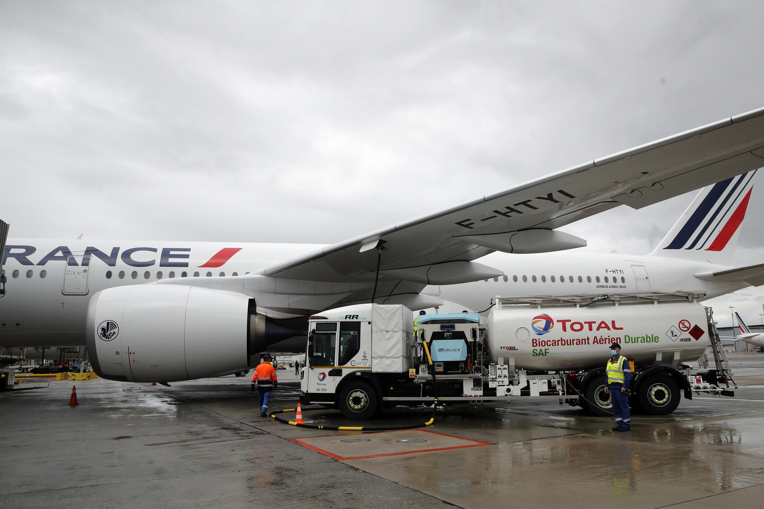 Air France sustainable fuel bio