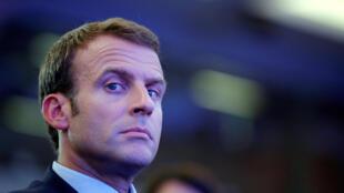 Самый молодой президент Франции Эмманюэль Макрон