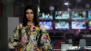 Марвия Малик – первая в Пакистане телеведущая трансгендер