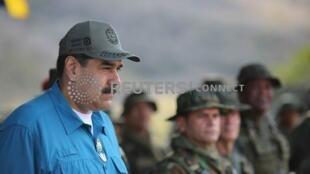 委內瑞拉總統馬杜羅。