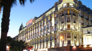 The Carlton hotel in Cannes
