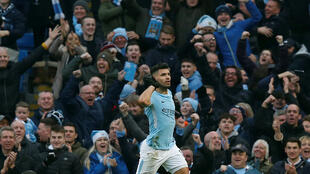 Sergio Aguero is Manchester City's record goal scorer.