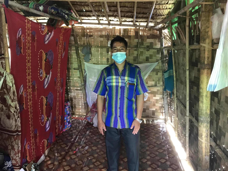 Ce pasteur, père de trois enfants, est arrivé à Rangoun en mars 2020.
