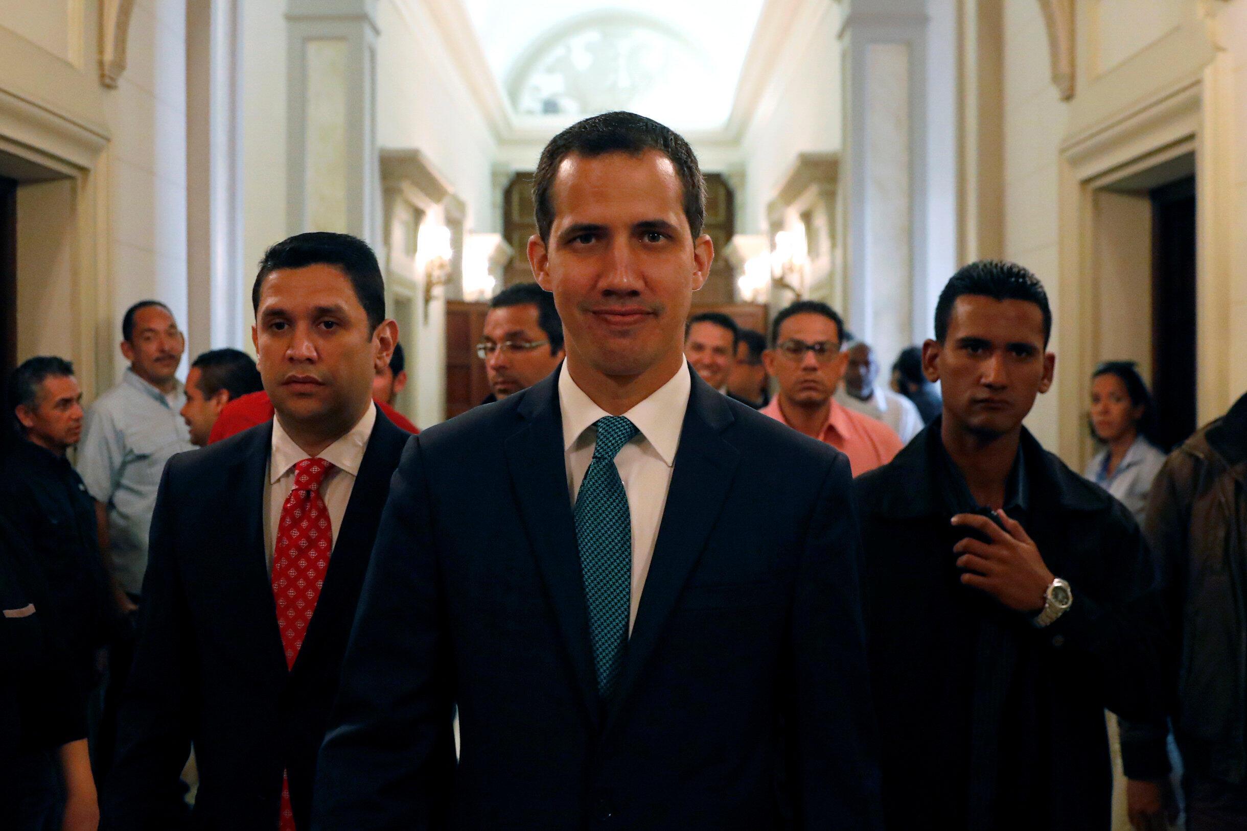Juan Guaido a appelé à une nouvelle mobilisation ce mardi 12 février.