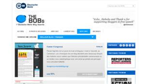 <i><b>Kamer Kongossa, </i></b>de Florian Ngimbis a été primé «Meilleur blog francophone».