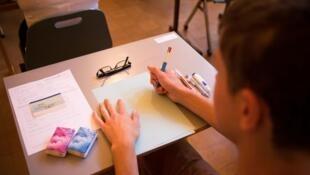 法國一名考生並沒有因駕照被吊銷而耽誤了高中會考