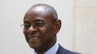 léon paul Ngoulakia, cousin germain d'Ali Bongo et candidat à l'élection présidentielle au gabon, le 2 août 2016.