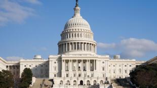 美國國會大樓。