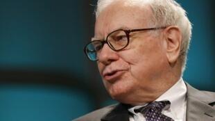 Warren Buffet, patron de l'entreprise Berkshire Hathaway.