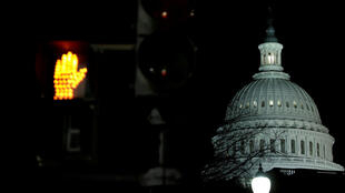 Le Capitole, après le début du shutdown du gouvernement.