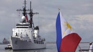 Chiến hạm Gregorio Del Pilar vừa được Philippines đưa về hôm 23/8/2011 nhằm tăng cường sức mạnh cho hải quân
