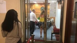 Brasileiros votam no Consulado do Brasil em Hong Kong neste domingo, 28 de outubro de 2018.