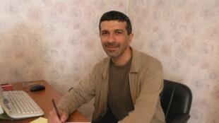 Artak Kirakosyan, président du conseil de l'Institut de la société civile, secrétaire général de la Fédération internationale pour des droits de l'homme.