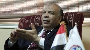 Saad al-Katatni, presidente do Parlamento do Egito dissolvido pela junta militar.