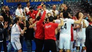 Les Égyptiens ont remporté le septième titre continental de handball de leur histoire ce dimanche 26 janvier 2020.