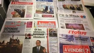 Diários franceses 06/02/2015