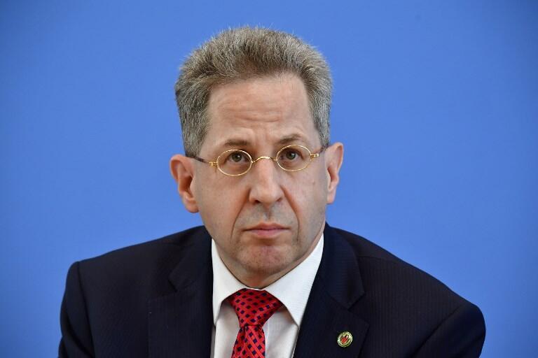 Ông Hans-Georg Maassen, lãnh đạo cơ quan an ninh nội địa Đức (Ảnh chụp ngày 24/07/2018).