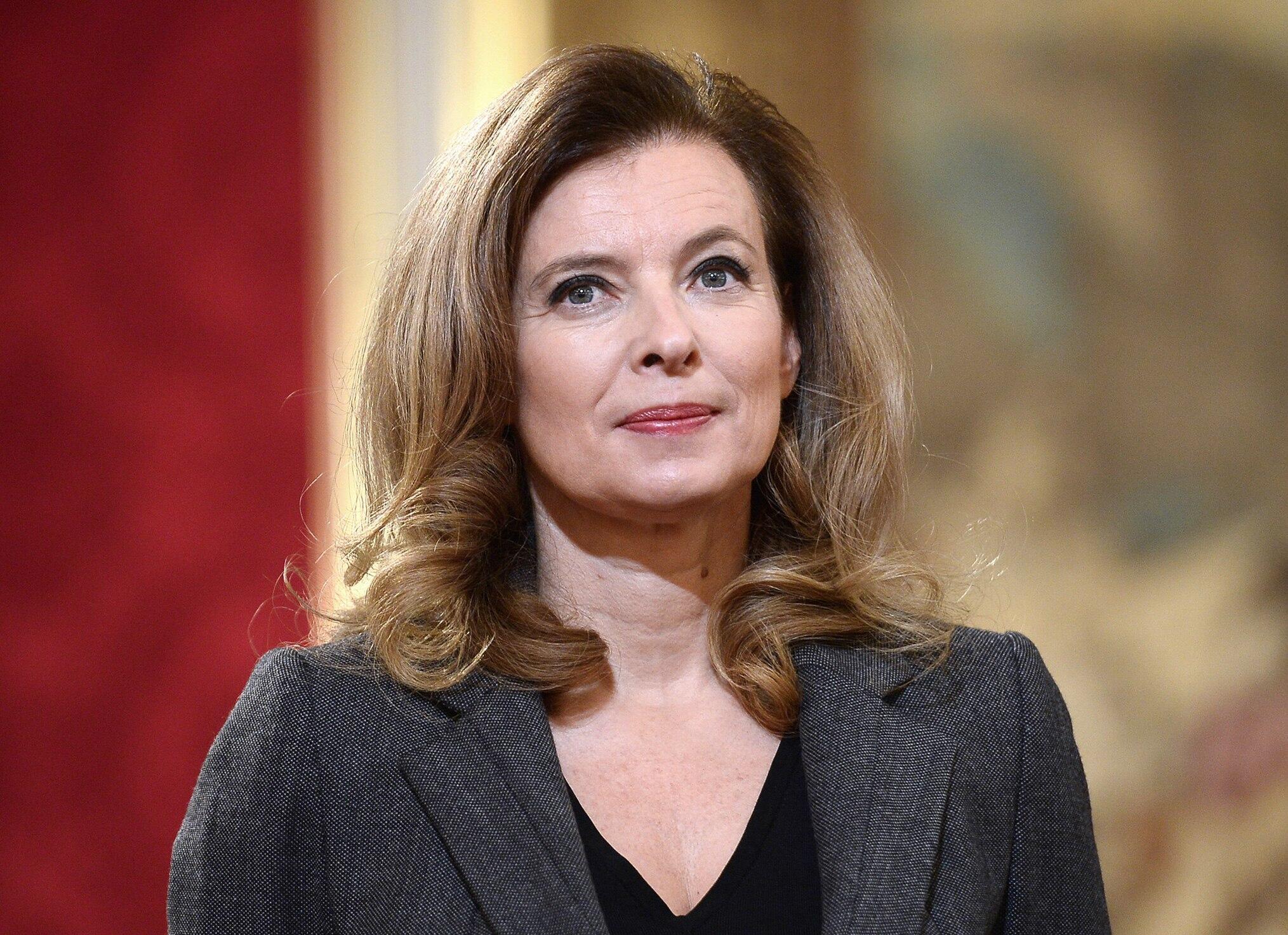 Valerie Trierweiler, journaliste et ex première dame.