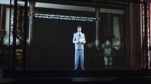 « I am prepared to die », le spectacle d'hologrammes imaginé par le Forum des images et produit par l'Ina.